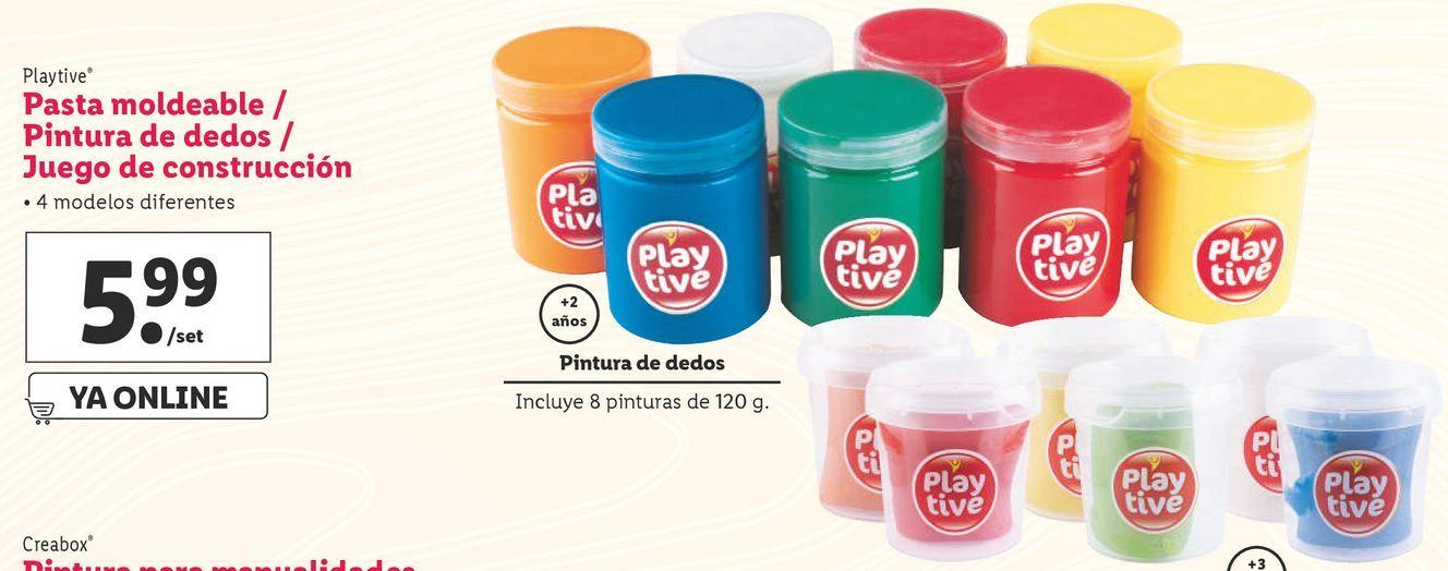 Oferta de Pintura de dedos Playtive por 5,99€