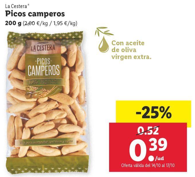Oferta de Picos por 0,39€