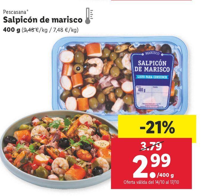 Oferta de Salpicón de marisco por 2,99€