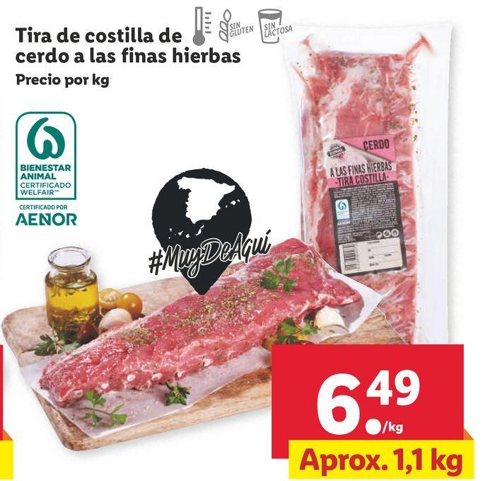 Oferta de Costillas por 6,49€