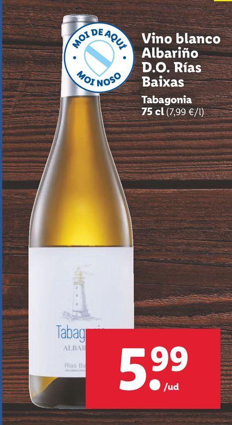 Oferta de Vino blanco por 5,99€