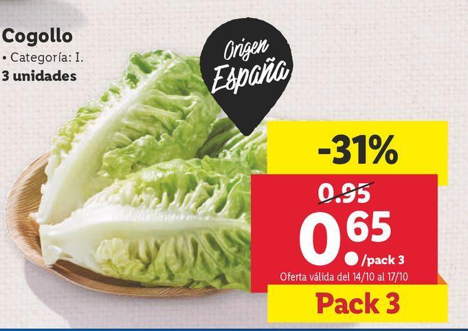 Oferta de Cogollos por 0,65€