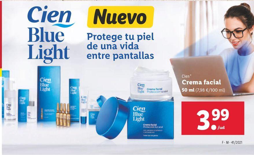 Oferta de Crema facial Cien por 3,99€