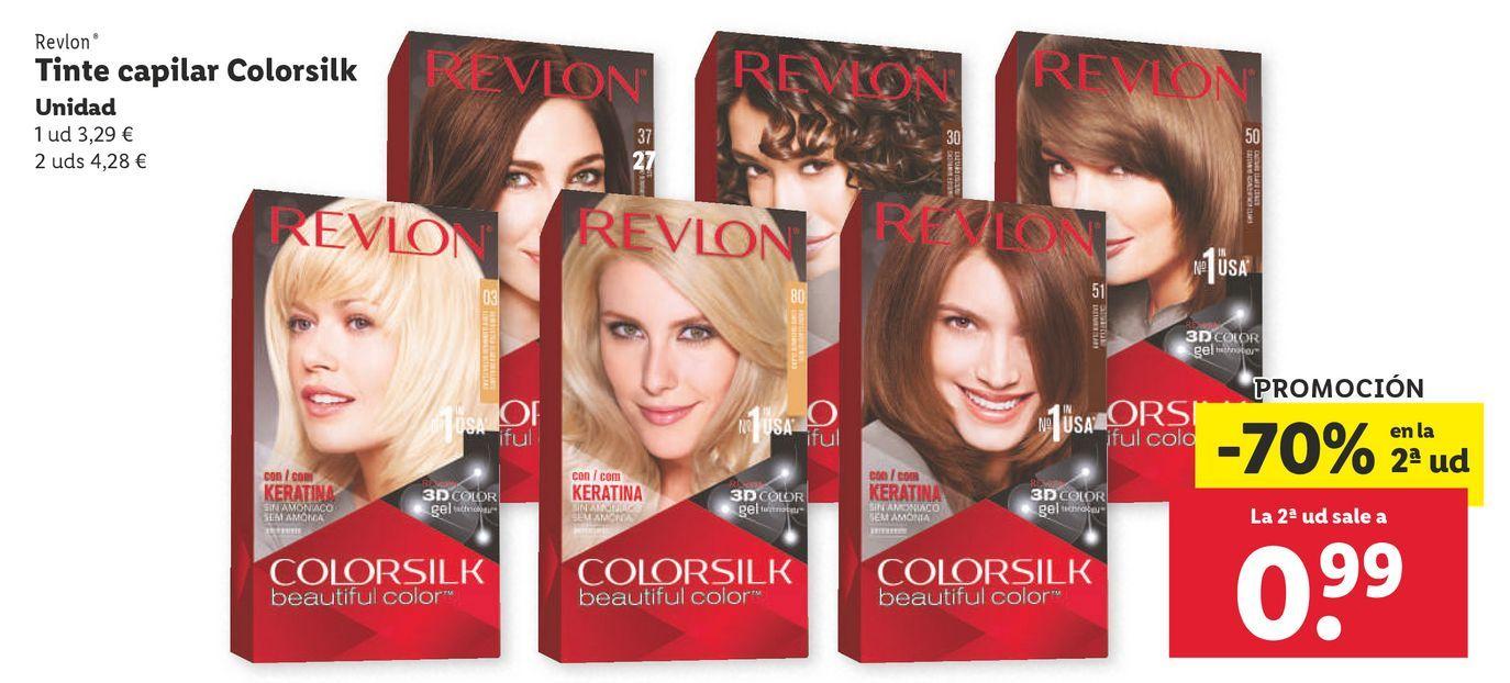 Oferta de Tinte de pelo Revlon por 3,29€