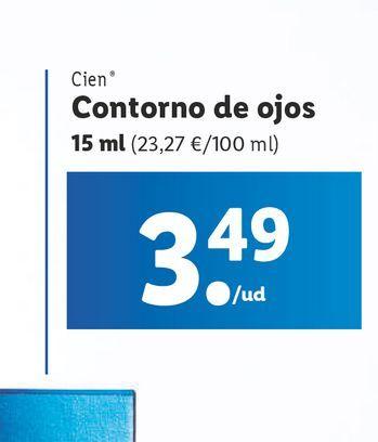 Oferta de Contorno de ojos Cien por 3,49€