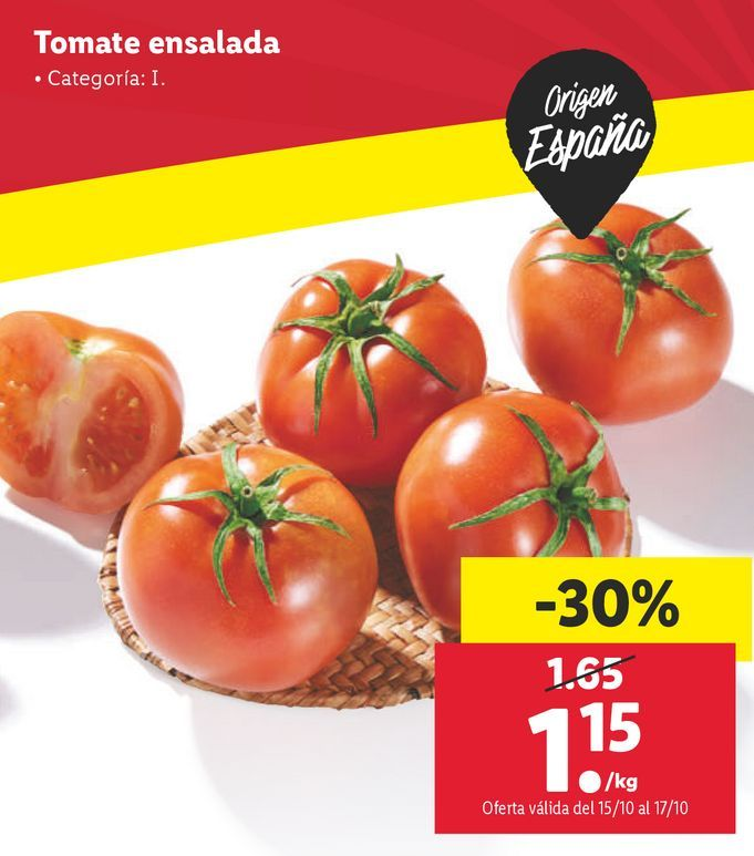 Oferta de Tomates por 1,15€
