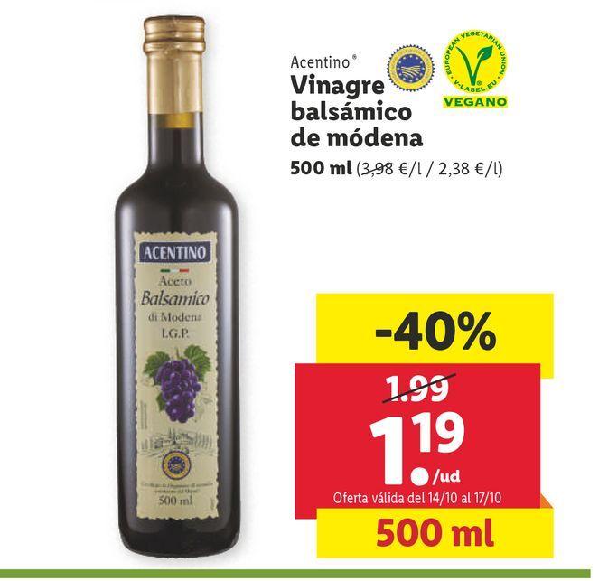 Oferta de Vinagre por 1,19€