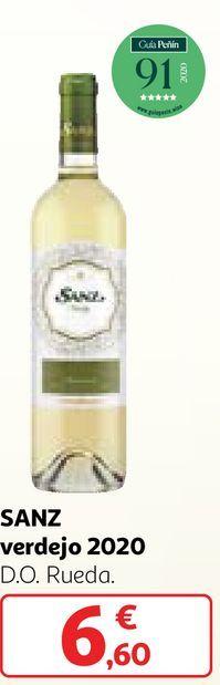 Oferta de Vino verdejo sanz por 6,6€