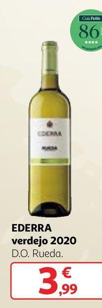Oferta de Vino verdejo Ederra por 3,99€