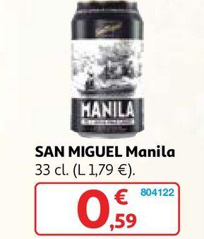 Oferta de Cerveza San Miguel por 0,59€