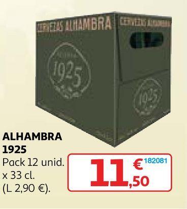 Oferta de Cerveza Alhambra por 11,5€