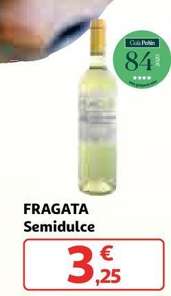 Oferta de Vino semidulce fragata por 3,25€