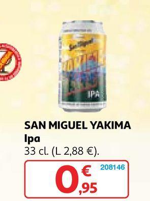 Oferta de Cerveza San Miguel por 0,95€