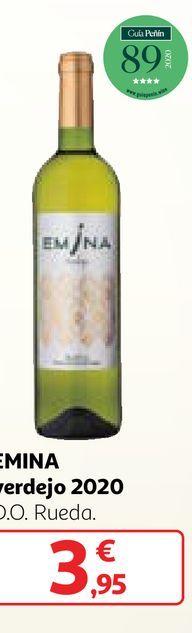 Oferta de Vino verdejo Emina por 3,95€