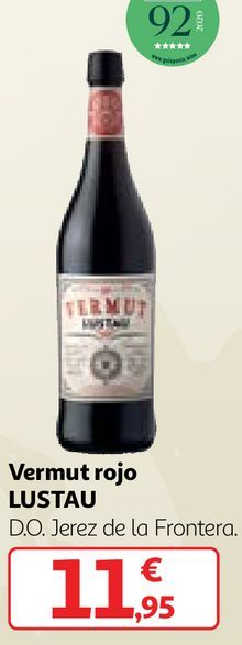 Oferta de Vermouth rojo por 11,95€