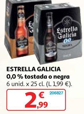 Oferta de Cerveza Estrella Galicia por 2,99€