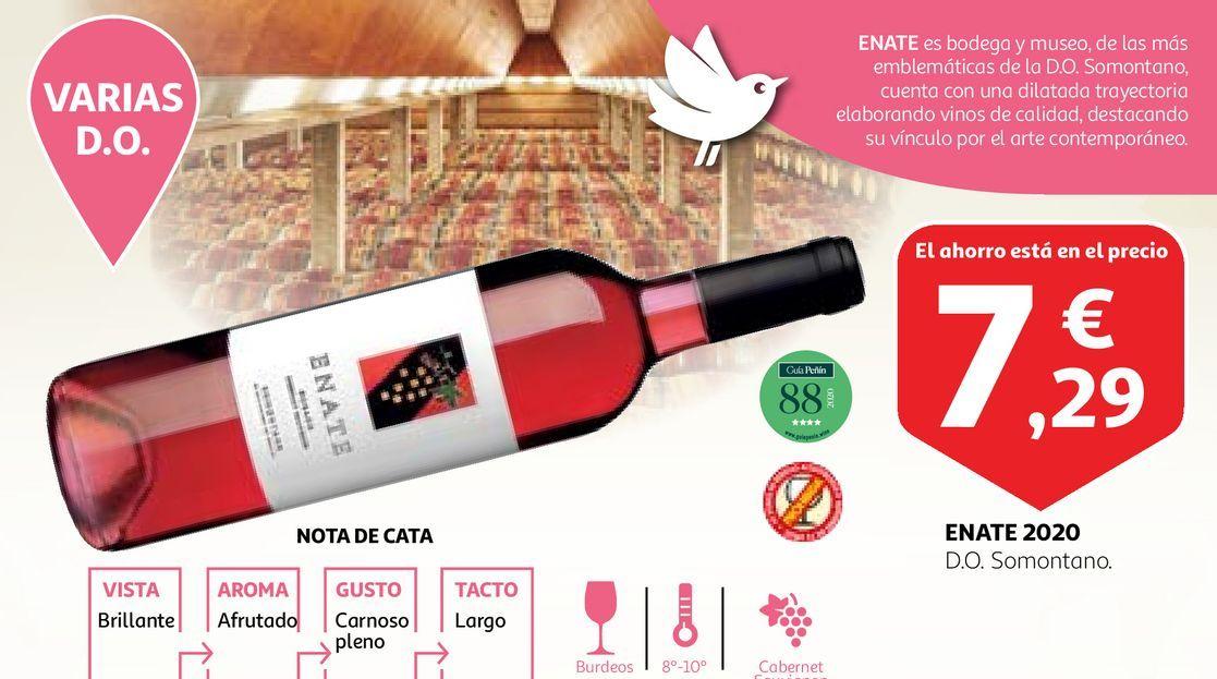 Oferta de Vino rosado Enate por 7,29€