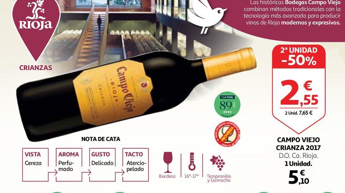 Oferta de Vino Campo Viejo por 5,1€