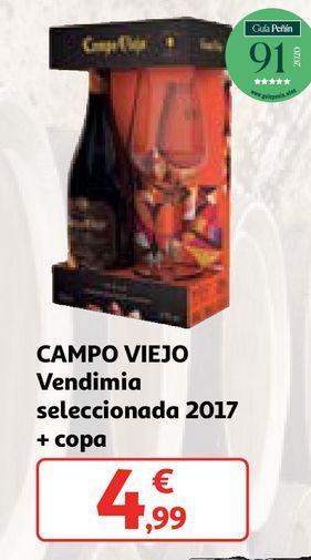 Oferta de Bebidas alcohólicas Campo Viejo por 4,99€