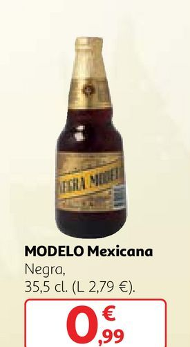 Oferta de Cerveza mejicana por 0,99€