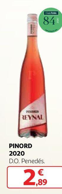Oferta de Vino rosado Pinord por 2,89€