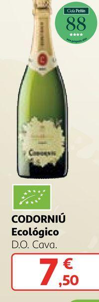 Oferta de Bebidas alcohólicas Codorniu por 7,5€