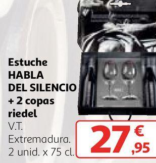 Oferta de Bebidas alcohólicas Habla del silencio por 27,95€