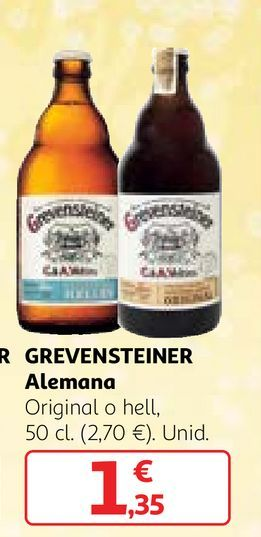 Oferta de Cerveza alemana por 1,35€