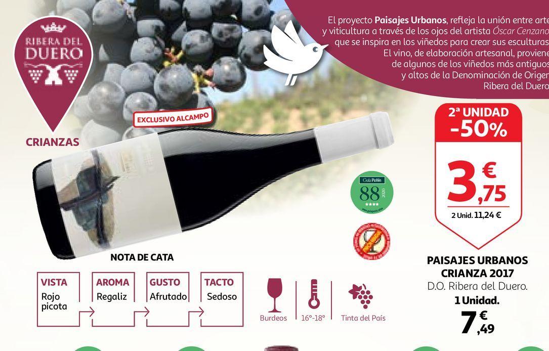 Oferta de Vino tinto por 7,49€