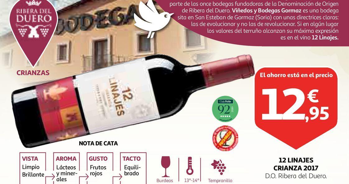 Oferta de Vino tinto por 12,95€