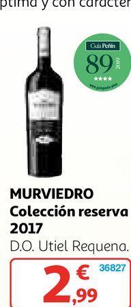Oferta de Vino reserva por 2,99€