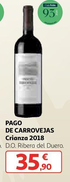 Oferta de Vino tinto Pago de Carrovejas por 35,9€