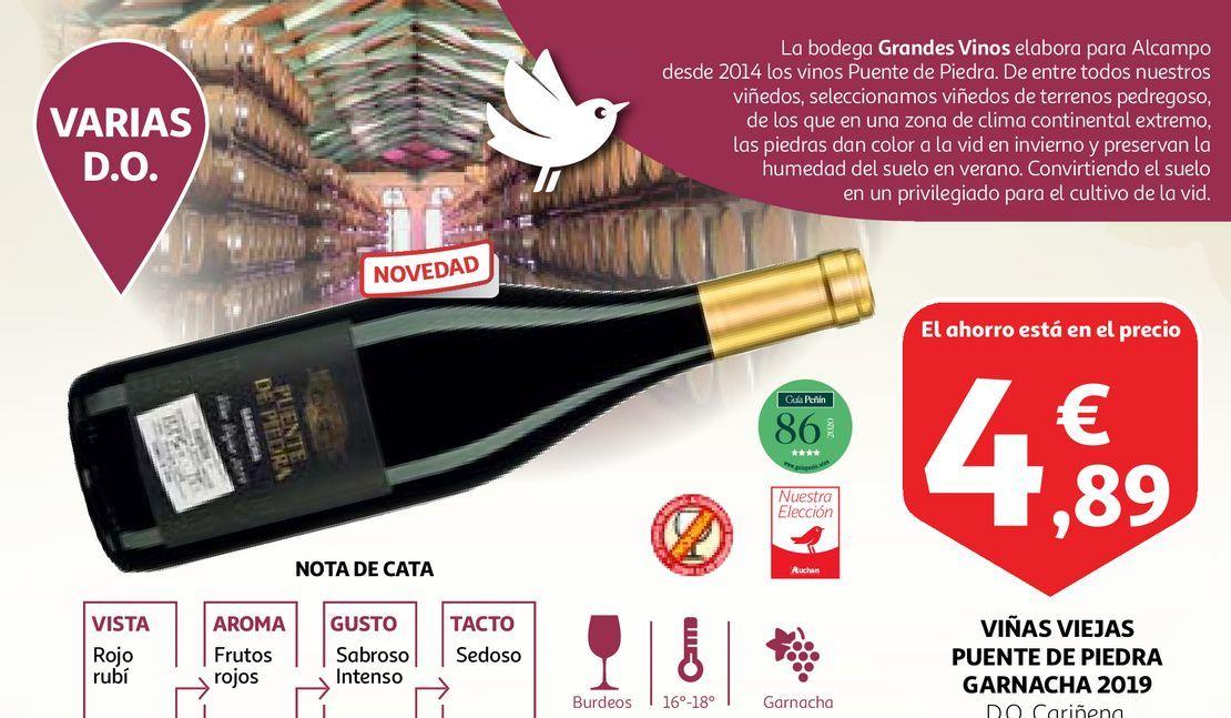 Oferta de Vino tinto por 4,89€