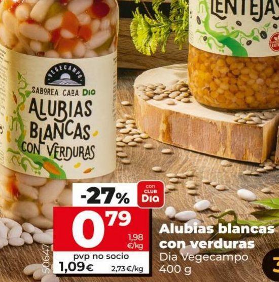 Oferta de Alubias por 0,79€