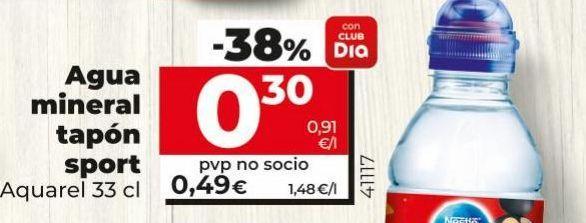 Oferta de Agua Aquarel por 0,3€