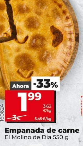 Oferta de Empanada de carne por 1,99€