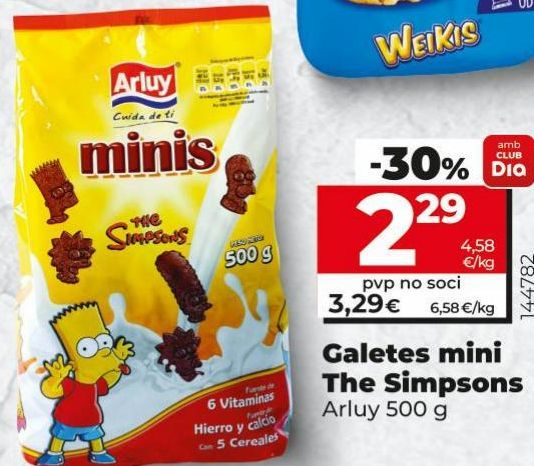 Oferta de Galletas Arluy por 2,29€