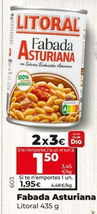 Oferta de Fabada Litoral por 1,95€