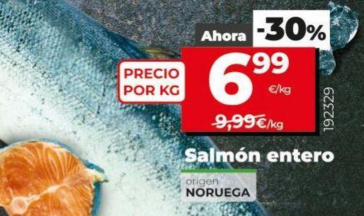 Oferta de Salmón por 6,99€