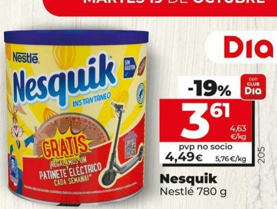 Oferta de Cacao Nesquik por 4,49€