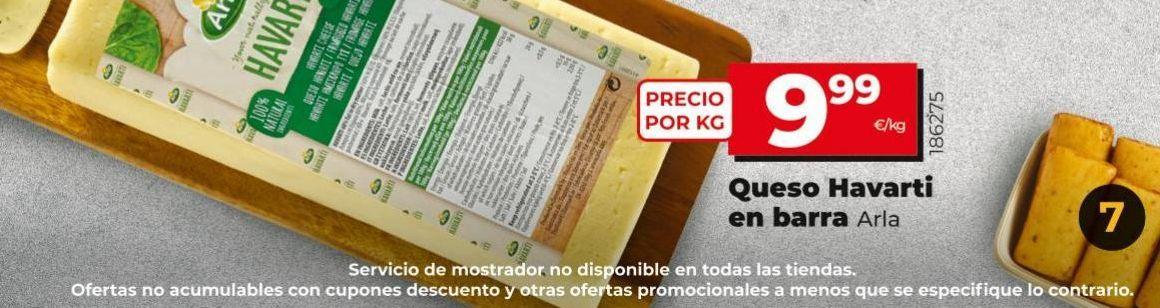 Oferta de Queso havarti Arla por 9,99€