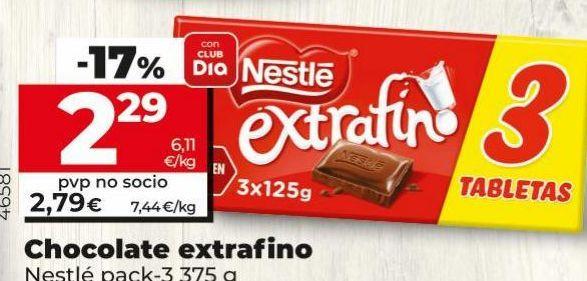 Oferta de Chocolate a la taza Nestlé por 2,79€