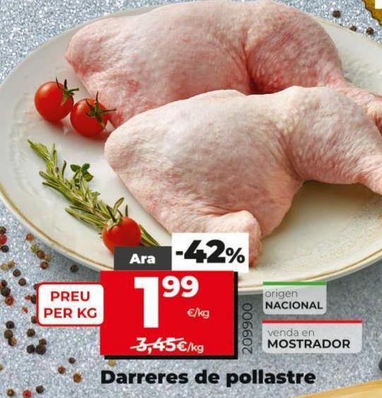 Oferta de Traseros de pollo por 1,99€
