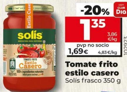 Oferta de Tomate frito Solís por 1,69€