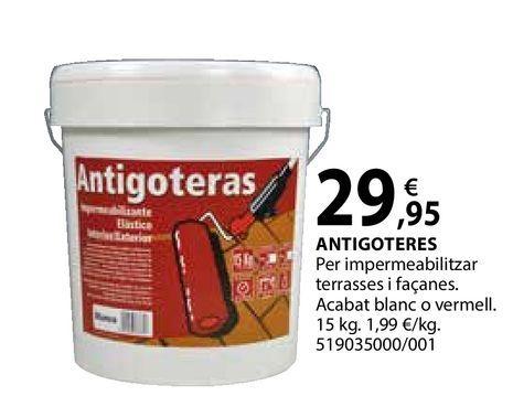 Oferta de Antigoteres por 29,95€