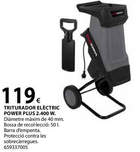 Oferta de Triturador elèctric por 119€