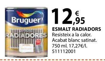 Oferta de Esmalte para radiadores Bruguer por 12,95€