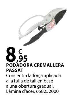 Oferta de Podadora cremallera passat por 8,95€