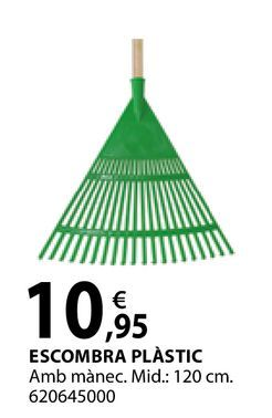 Oferta de Escombra plàstic por 10,95€