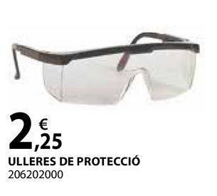 Oferta de Ulleres de protecció por 2,25€